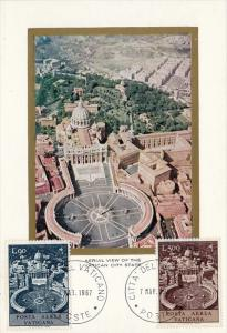 Vatican ; Maximum Postcard , PU-1967