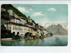 3131487 ITALY GANDRIA Lago di Lugano Vintage postcard