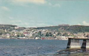 A view of Gaspe from across the Bay,  Gaspe,  Quebec,  Canada,  40-60s