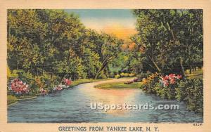 Greetings from Yankee Lake NY Unused