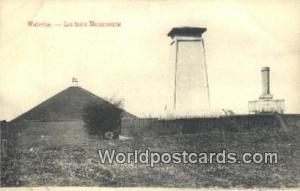 Waterloo, Belgium, België, la Belgique, Belgien Les Trois Monuments  Les Tro...