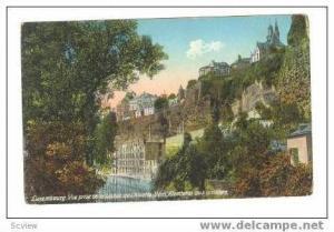 Luxembourg  Vue prise de la Valle del Alzette, 00-10s