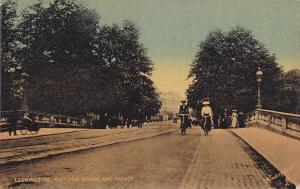 TUCK : LEAMINGTON, UK, 1900-1910´s; Victoria Bridge And Parade