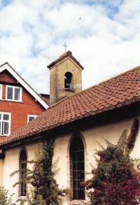 Postcard PLESHEY The Chapel House of Retreat ESSEX