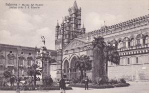 PALERMO, Sicilia, Italy; Piazza del Duoo Statue della S. S. Rosalia, 00-10s