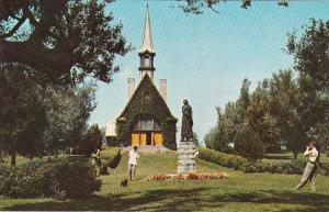 Canada Nova Scotia Grand Pre Replica Of Church Of Saint Charles