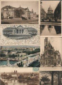 France Paris Postcard Lot of 19 01.03