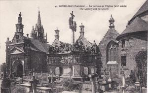 GUIMILIAU (Finistere) , France , 00-10s ; Le Calvaire et l'Eglise