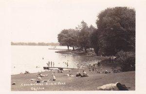 RP: ORILLIA , Ontario , Canada , 30-40s ; Couchiching Beach Park
