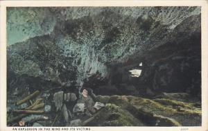 An Explosion In The Mine and Its Victims