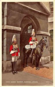 629 Horse Guards Sentries, Whitehall, London
