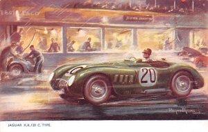 Jaguar X.K. 120 Auto Race Car, Racing Unused