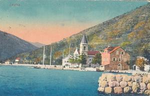 MONTENEGRO Lastva Bocche di Cattaro KOTOR postcard