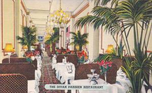New York City The Divan Parisien Restaurant