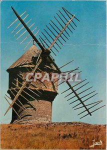 Postcard Modern Colors of Brittany Mill Devil