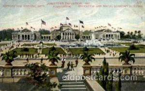 Jamestown Exposition 1907, Near Norfolk, Virginia, USA Postcard Post Card  Hi...