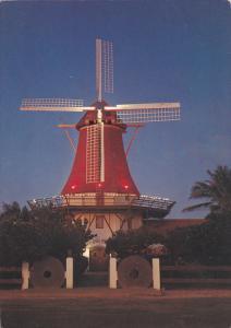 Giant Windmill, De Olde Molen Famous Restaurant, A Touch of Dutch, Aruba, Ant...