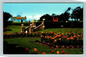 Morecambe UK-United Kingdom, Happy Mount Park, Chrome Postcard