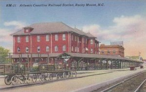 North Carolina Rocky Mount Atlantic Coastline Railroad Station