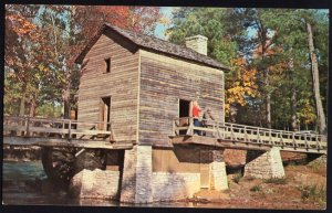 Georgia ~ The Grist Mill STONE MOUNTAIN - Chrome 1950s-1970s