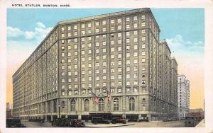 Hotel Statler, Boston, Massachusetts, Early Postcard, Unused