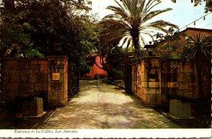 Texas San Antonio Entrance To La Villita