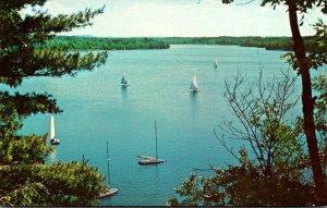 Michigan Stony Lake Camp Miniwanca The American Youth Foundation Sailing Scen...