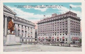 The Washington Pennsylvania Avenue at 15th And F Streets Northwest Oppostite ...