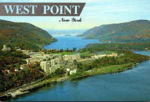 New York West Point Aerial View United States Military Academy