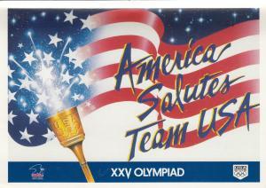 America Salutes Team USA , XXV Olympiad