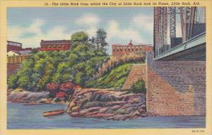 Arkansas Little Rock From Which The City Of Little Rock Took Its Name Curteich