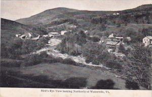 Bird's Eye View Looking Northerly Of Waterville Vermont