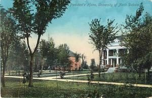 D/B President's Home University of North Dakota ND 1912