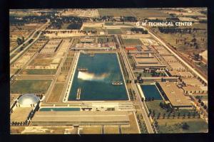 Warren, Michigan/MI Postcard, Aerial View Of General Motors Technical Center