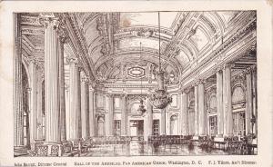 WASHINGTON, DC, 20s-30s; Hall of the Americas, Pan American Union