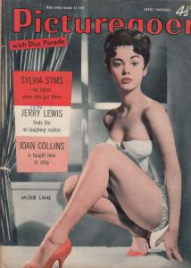 Picturegoer Joan Collins Learns Striptease Sylvia Syms 1959 Magazine
