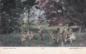 BINGHAMTON, New York, PU-1907; Target Practice