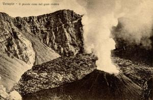 Italy -  Naples. Mt Vesuvio, Cone of Large Crater