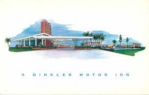A Dinkler Motor Inn Jamaican Motor Lodge Jacksonville FL