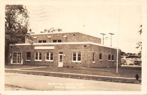 North Branch Minnesota~Municipal Power Plant~1943 Postcard RPPC