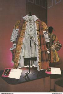 Henry VIII Catherine Howard & Jester Medieval Costume BBC TV Show Postcard