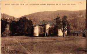 CPA  Thorenc (A.-M.) - Le Castellaras, Cháteau Seigneurial des IV Tours (655906)