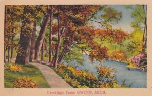Michigan Greetings From Gwinn