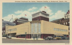 OMAHA , Nebraska , 1930-40s ; Greyhound Bus Station