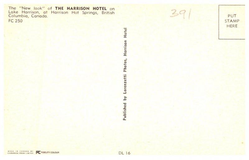 Canada  Harrison Hot Springs B.C. The Harrison Hotel