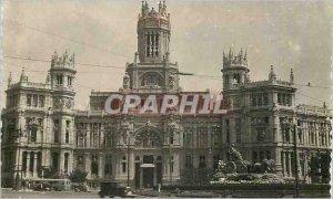 Postcard Modern Madrid Palacio de Comunicaciones Tarjeta Postal Ediciones F M...