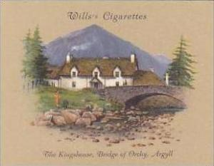 Wills Cigarette Card 2nd Series No 20 Kingshouse Bridge Of Orchy Argyll