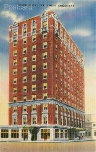 AR, Fort Smith, Arkansas, ward Hotel, Colourpicture No. 16541