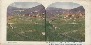 SV : KLONDYKE , Alaska , 1890s ; Bonaza & Eldorado Mines