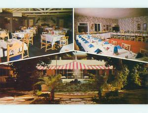 Unused Pre-1980 TERRACE PATIO RESTAURANT Ft. Fort Lauderdale Florida FL s0876